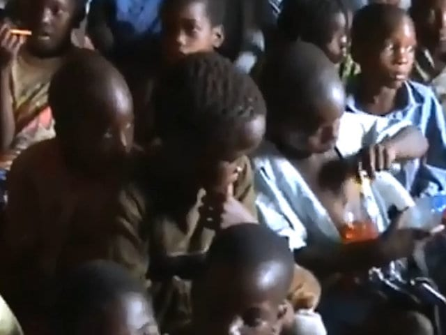Africa Schoolchildren Video