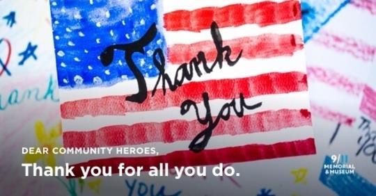 Join us today as we celebrate all heroes