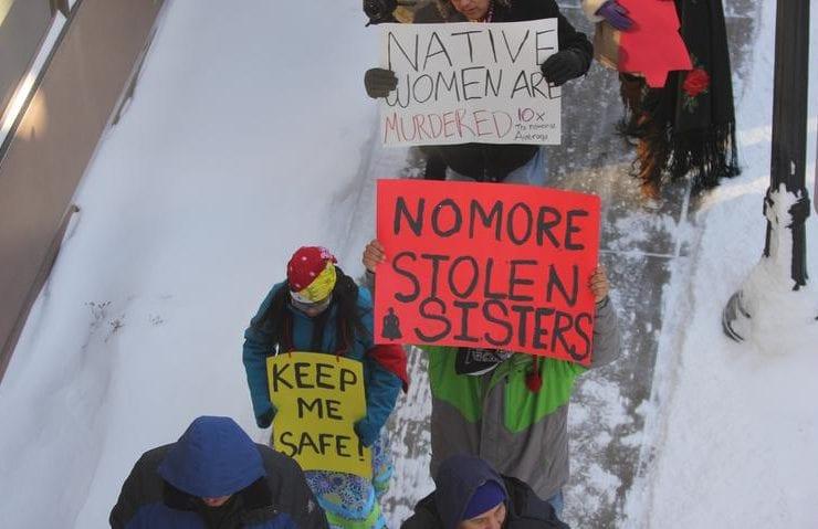 Violence facing indigenous people